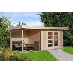 weka Gartenhaus Chill-Out Gr.3, BxT: 585x375 cm, (Set)