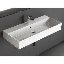 Aqua Bagno Waschbecken Aqua Bagno, Design Hängewaschbecken Waschbecken 90cm