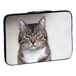 PEDEA Design Schutzhülle: cat 15,6 Zoll (39,6 cm) Notebook Laptop Tasche