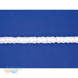 Gardinenband Reihband Kräuselband 20 mm, 10 m weiß