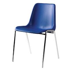 Nowy Styl Stapelstuhl Beta Kunststoff Blau 4 Stück