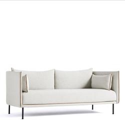 Silhouette Sofa 2-Sitzer Coda 100  Hay