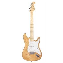 SX E-Gitarre SST American Swamp Ash - natur, leichter USA Southern Swamp Ash Korpus