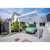 GUTTA Premium Carport 309,4 x 562 cm, weiß, Acryl klar 16 mm