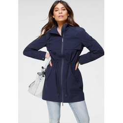 Tamaris Regenjacke in Parka-Optik blau 34