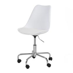 Fotel biurowy Djum biały