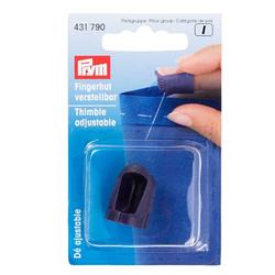 PRYM Fingerhut, verstellbar, 100% Kunststoff, Zubehör, Fingerhüte & Fingerschützer
