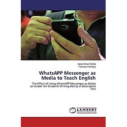 WhatsAPP Messenger as Media to Teach English
