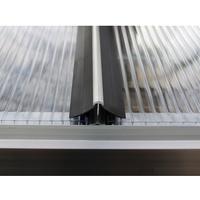 Vitavia Windsicherung für Hohlkammerplatteneindeckungen für: Gewächshausgrößen 6,7/7,5 m2)