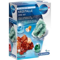 Clementoni® Lernspielzeug Galileo - Kristalle selbst züchten - Mini-Set