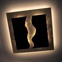 Paul Neuhaus Nevis LED Deckenleuchte mit Dimmer B: 40 H: 8 T: 40 cm, rost/gold 6951-48, EEK: A+. Diese Leuchte enthält eingebaute LED-Lampen. A++ (LED), A+ (LED), A (LED). Die Lampen können in der Leuchte nicht ausgetauscht werden.