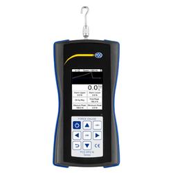 PCE Instruments Luftdruckmessgerät PCE Kraftmessgerät Dynamometer Zug- und Druckkraft PCE-DFG N 500