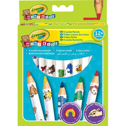 Crayola - Mini Kids - 8 Jumbo Buntstifte