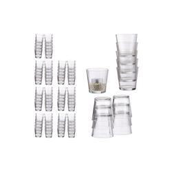 relaxdays Teelichthalter 96 x Teelichtgläser
