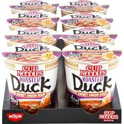 Nissin Cup Noodles Ente 65 g, 8er Pack