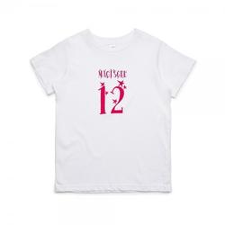 Kinder T-Shirt zum 12. Geburtstag
