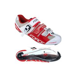 FORCE Carbon Rennrad Schuhe Fahrradschuh rot 42