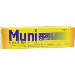 MUNI 0,5% HC Creme 30 g