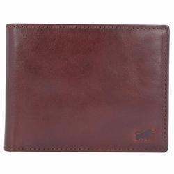 Braun Büffel Arezzo Geldbörse Leder 10,5 cm tabak
