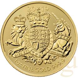 1 Unze Goldmünze Großbritannien Royal Arms 2019