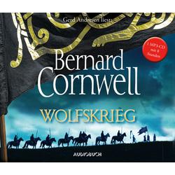 Cornwell B: Wolfskrieg als Hörbuch CD von Bernard Cornwell