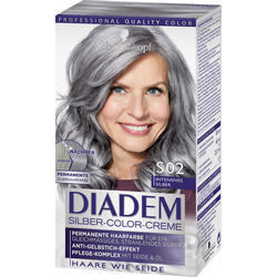 DIADEM Silber-Color-Creme S02 Intensives Silber Stufe 3 - 142 ml