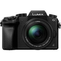 Panasonic Lumix DMC-G70M schwarz + 12-60 mm F3,5-5,6 OIS