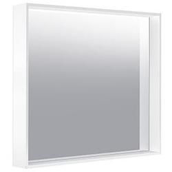 Keuco Kristallspiegel X-LINE 800 x 700 x 105 mm trüffel