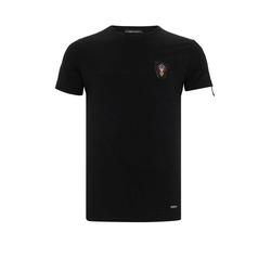 Cipo & Baxx T-Shirt mit Aufnäher S