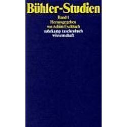 Bühler-Studien. Karl Bühler  - Buch