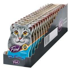 Fine Katzenfutter MSC Kabeljau 85 g, 18er Pack