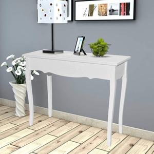 vidaXL Kiefernholz Konsolentisch Landhausstil Konsole Ablagetisch Frisiertisch