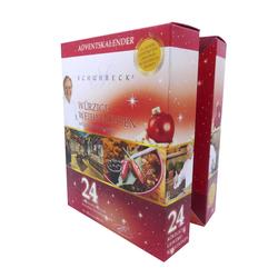 Schuhbeck´s Gewürz Adventskalender Weihnachtskalender 24 erlesene Gewürze im ...