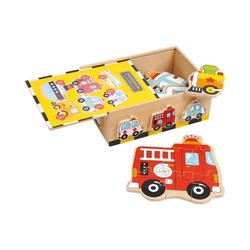 Small Foot Puzzle Puzzle-Box Fahrzeuge, 27 Puzzleteile