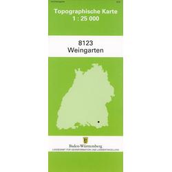 Weingarten 1 : 25 000