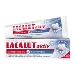 LACALUT aktiv Zahnfleischschutz & sanftes Weiß 75 ml