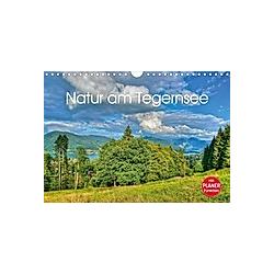 Natur am Tegernsee (Wandkalender 2021 DIN A4 quer)