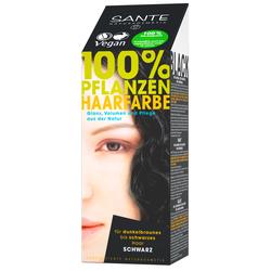 SANTE Pflanzenhaarfarbe - schwarz 100 g