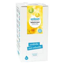 SODASAN Hand Spülmittel LEMON 5 Liter Bag in Box