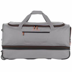 Travelite Basics 2- Rollen Reisetasche 70 cm grau grün