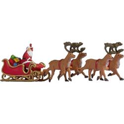 NOCH 0015924 H0 Weihnachtsmann mit Schlitten