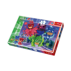 Trefl Puzzle Maxi Puzzle 24 Teile - PJ Masks, Puzzleteile