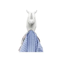 KARE Garderobe Wandhaken Rhino weiß