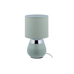 relaxdays Nachttischlampe Nachttischlampe Touch in Grün grün