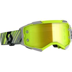 Scott Fury S20, Crossbrille verspiegelt - Gelb/Grau Gelb-Verspiegelt