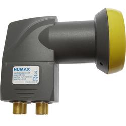 Humax HUMAX Digital LNB 143s-B Quad Switch (Quad LNB, 4 Universal-Quad-LNB