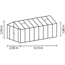 Vitavia Zeus Comfort 15700 Alu HKP 10 mm 15,7 m²