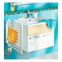 SZ METALL Elektrischer Badheizkörper, Handtuchheizkörper, klein weiß