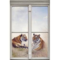 queence Wandsticker Tiger