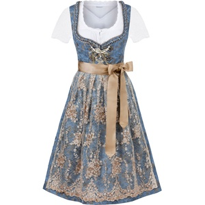 Stockerpoint Dirndl Minna blau 46